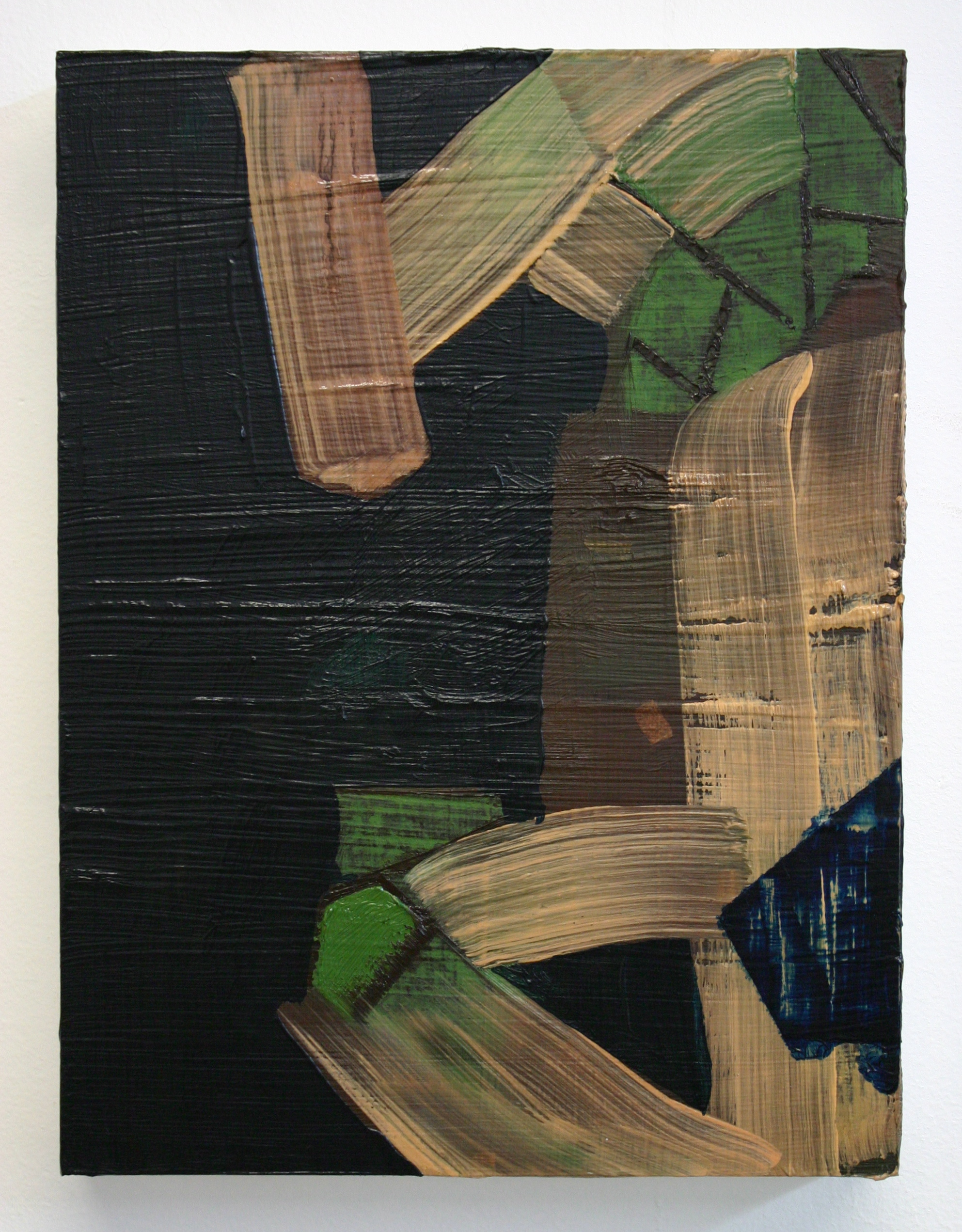 Monrovia, 2012, oil on wood panel, 8 x 6 inches