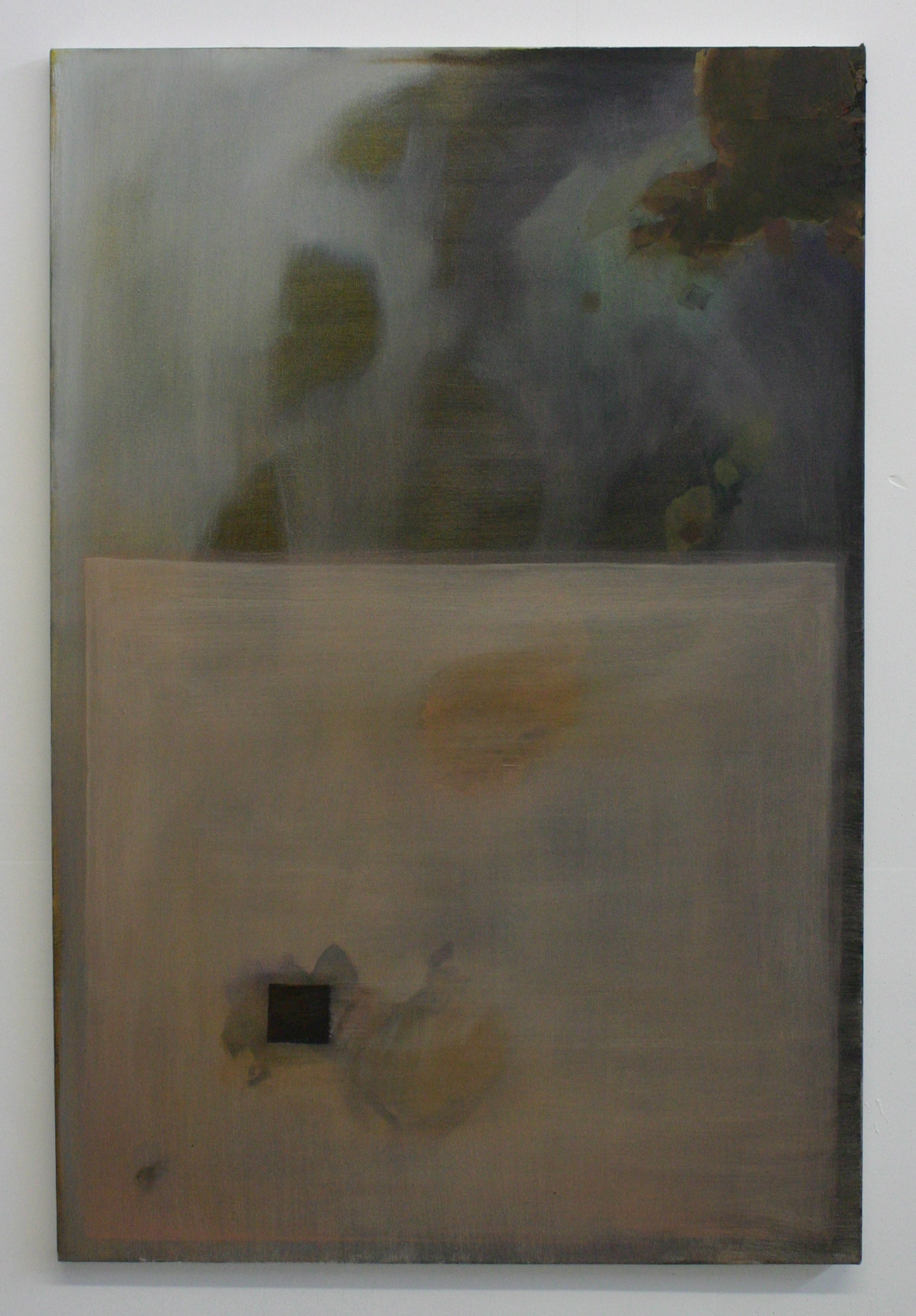 Rose Wake, 2012, oil on canvas, 36 x 24 inches