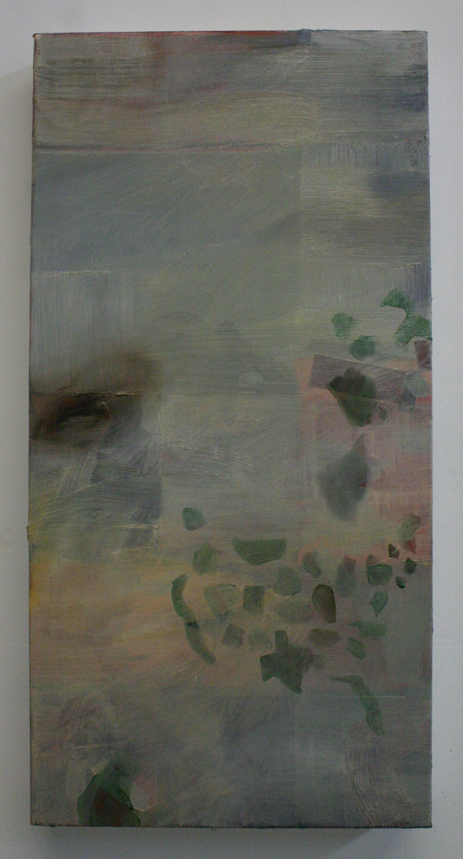 Fifty Nifty, 2012, oil on canvas, 30 x 15 inches