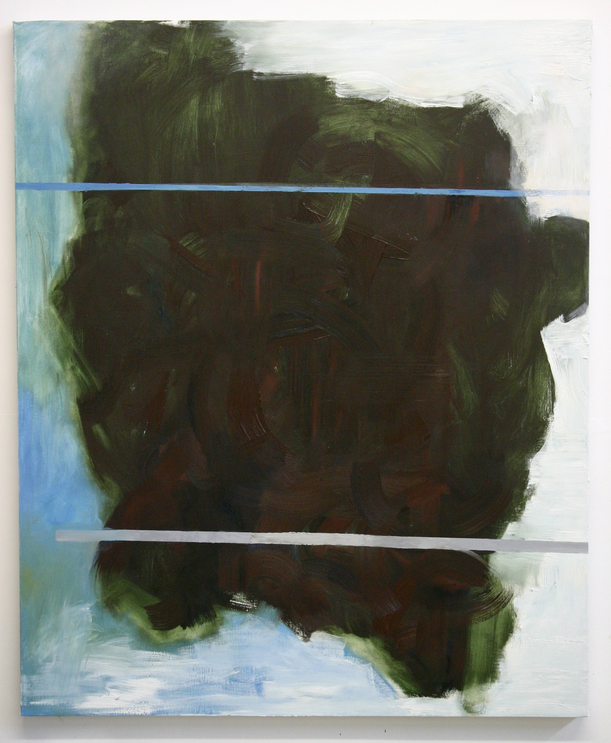 Toro, 2012, oil on canvas, 44 x 36 inches