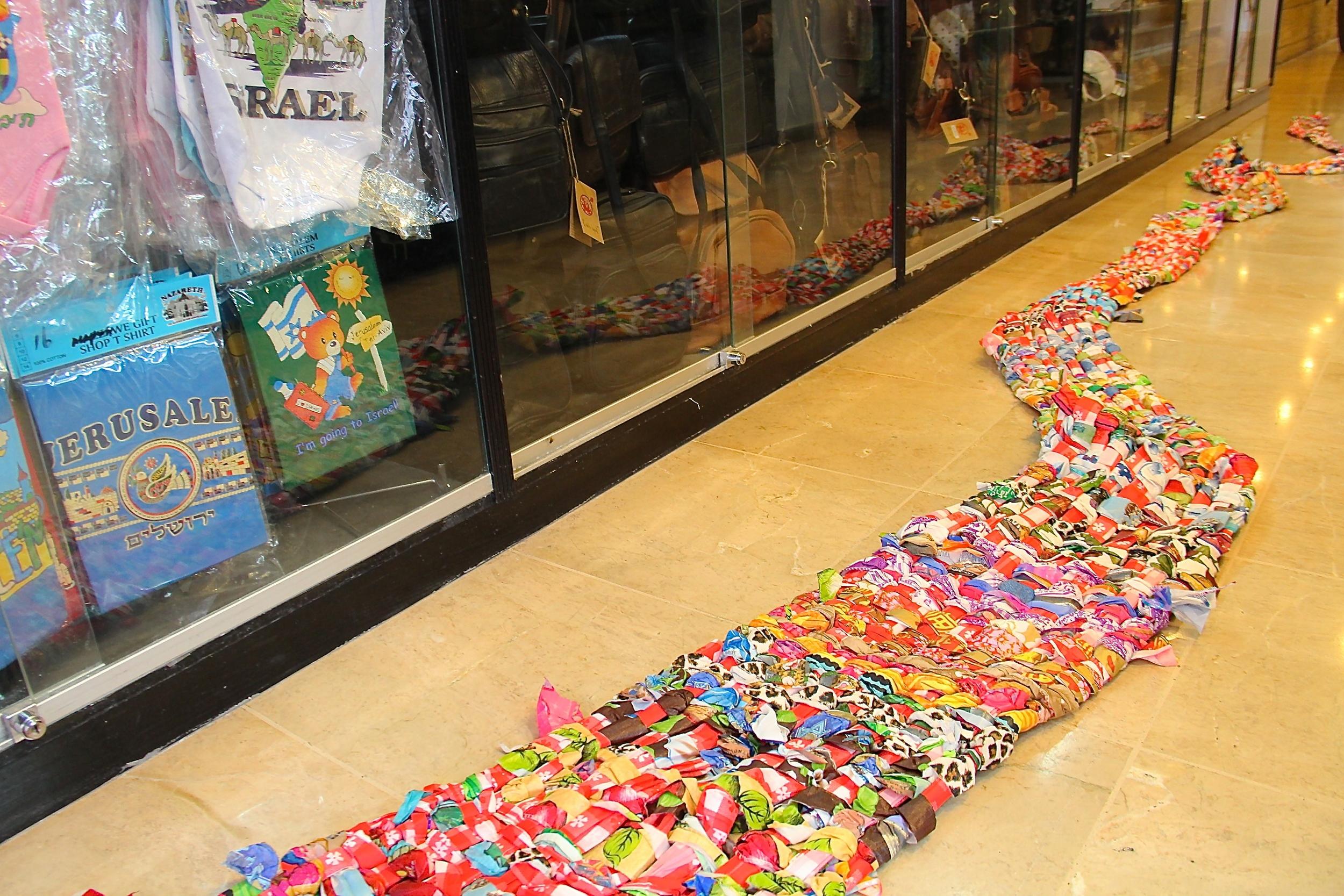 2014installation,Jerusalem Gardens Hotel Gift Shop, Jerusalem