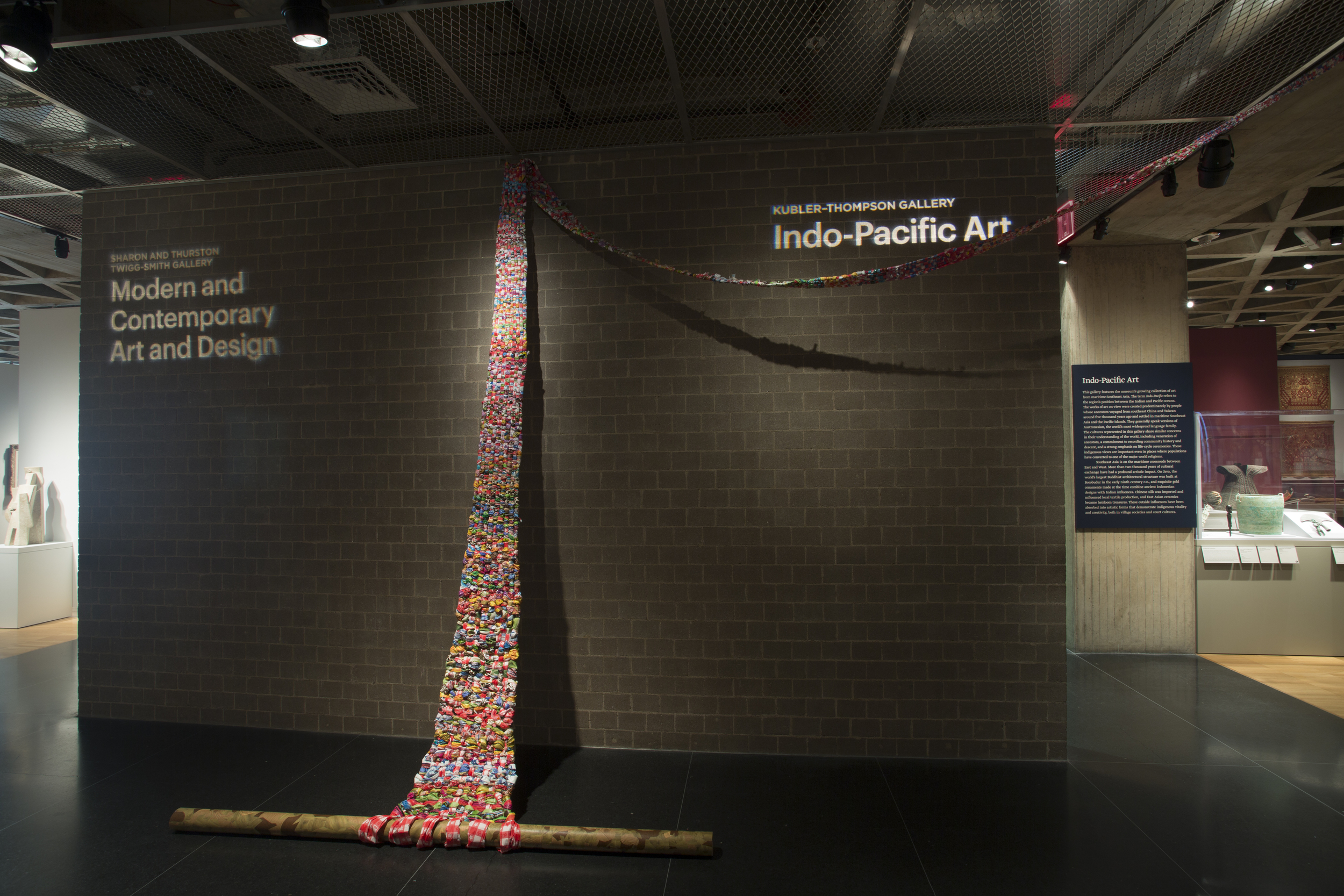 2014 installation,Yale University Art Gallery, New Haven, CT