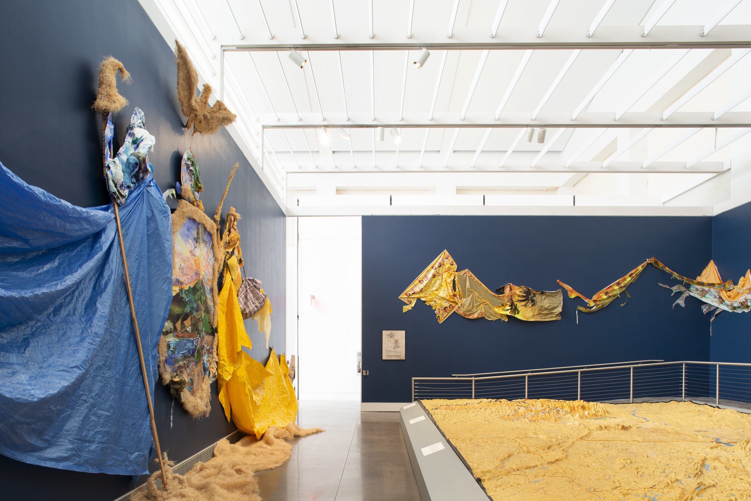 Excelsior: Ever Upward, Ever Afloat , 2018, Queens Museum, (more info  here ). Photo credit: Hai Zhang