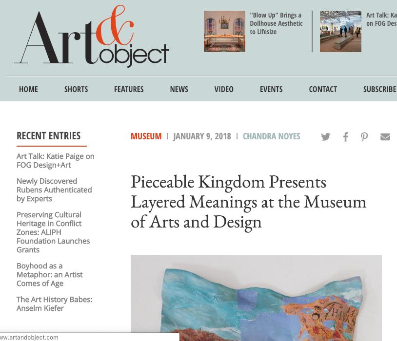 ART & OBJECT -