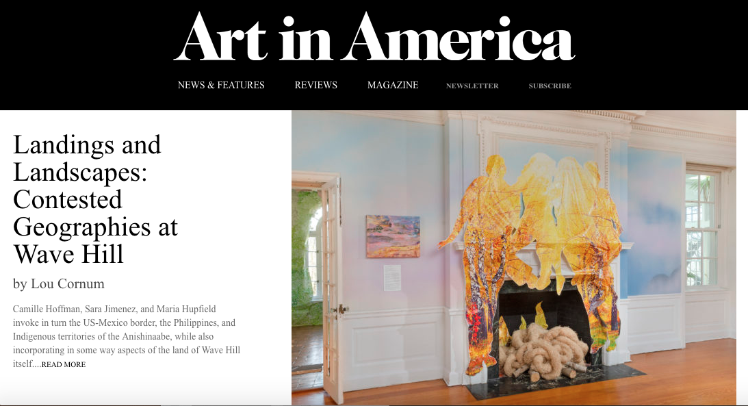 LINK TO ARTICLE:  https://www.artinamericamagazine.com/news-features/news/landings-and-landscapes-contested-geographies-at-wave-hill/