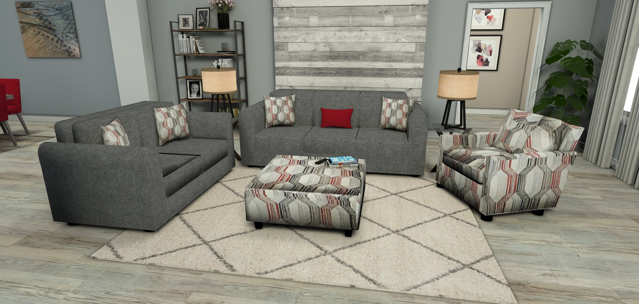 Rooms To Go - Living Room Concept