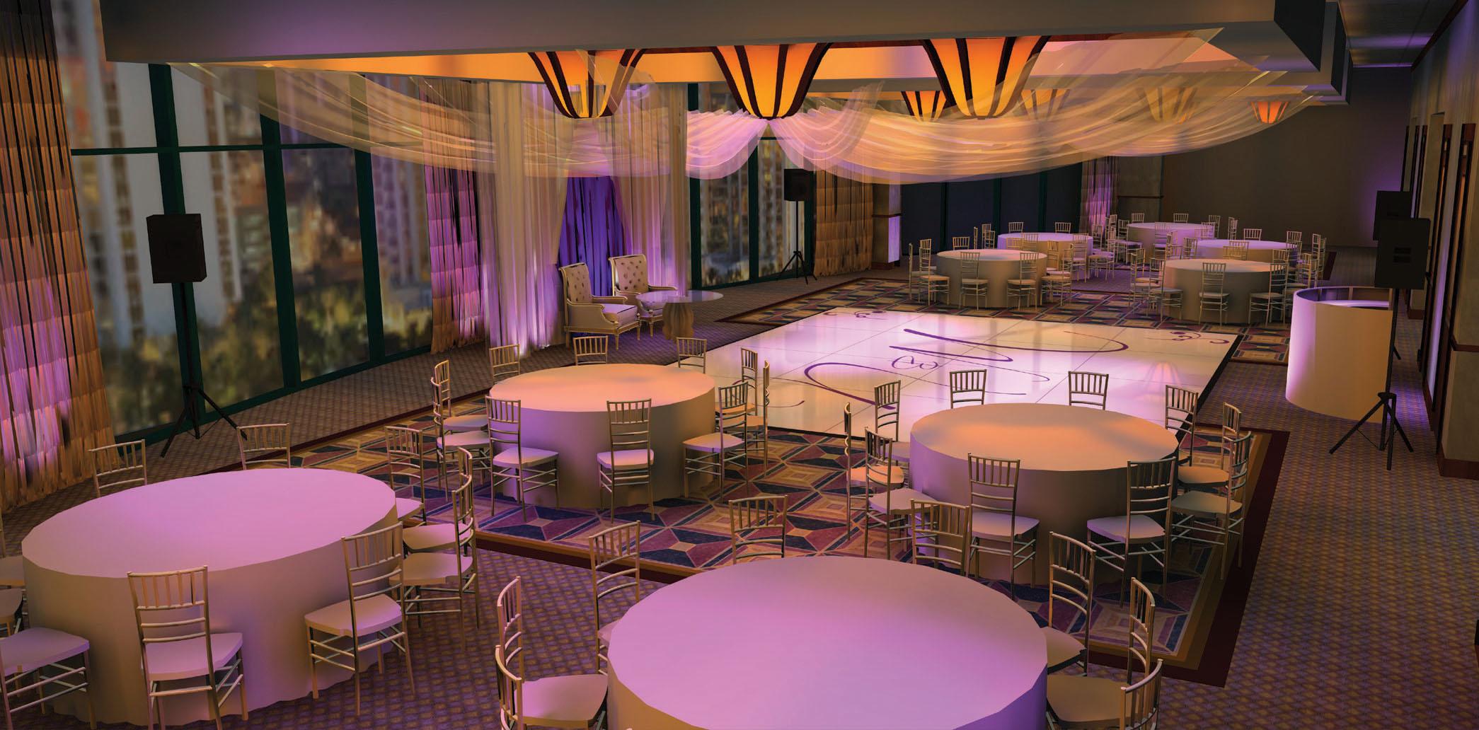 Bellagio - Wedding Reception