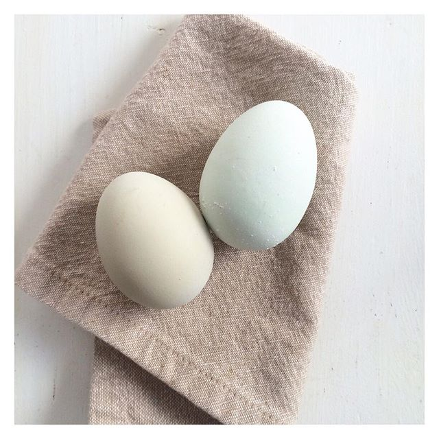 All natural Easter eggs #nofilterneeded #easter #eggs #nocolor #pastureraised #chickens make best eggs ever @funnygirlfarm
