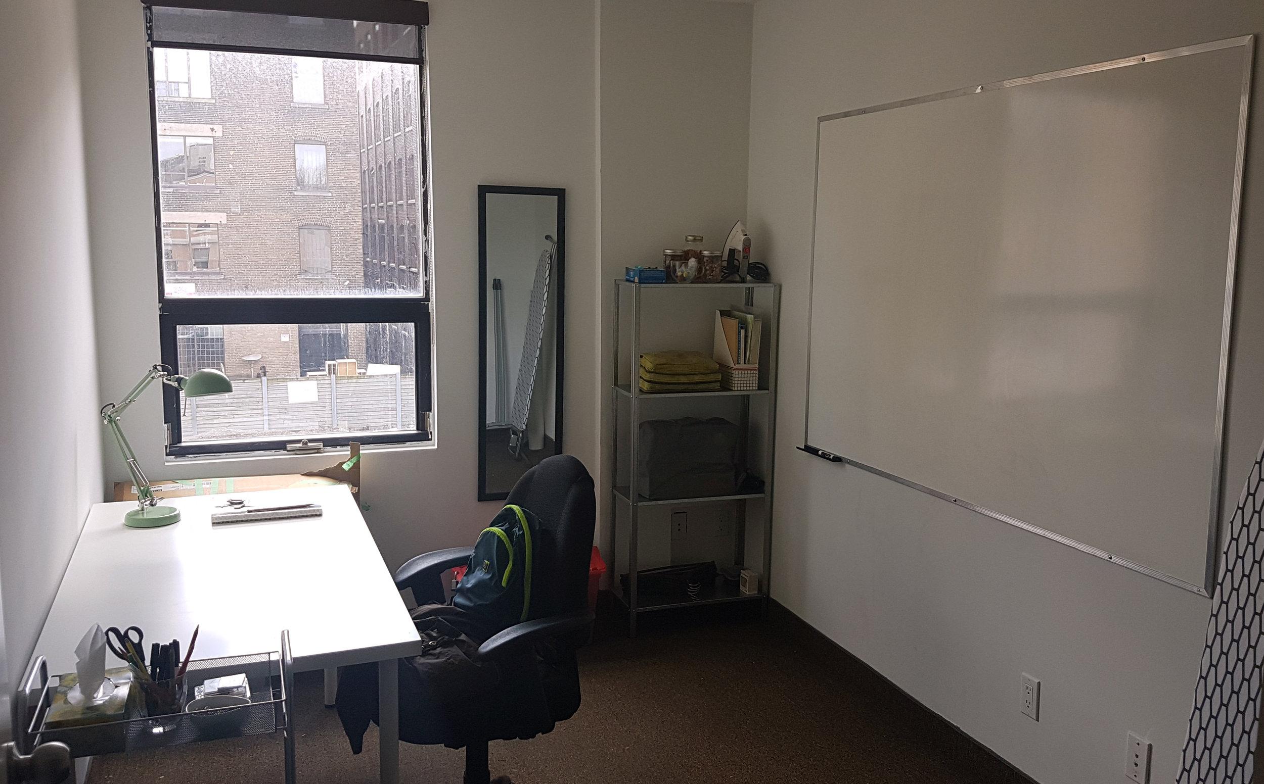 a studio, finally -