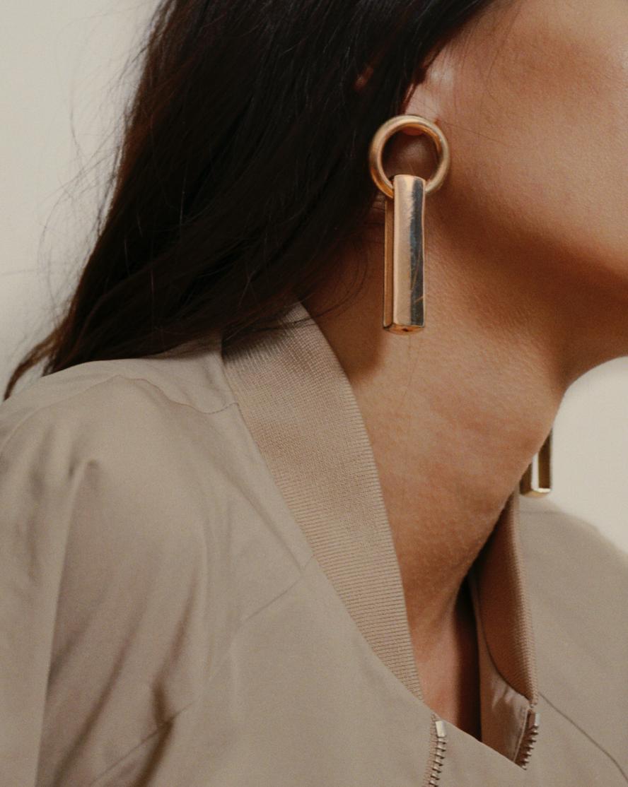 Staff Earring