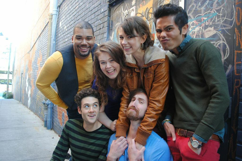 UNC Chapel Hill PATP 2014.  Nilan Johnson, Tania Chelnov, Maren Searle, Nathaniel P. Claridad, Brandon Garegnani, Patrick McHugh