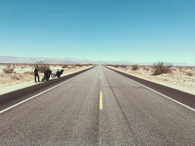 Somewhere on a desert highway