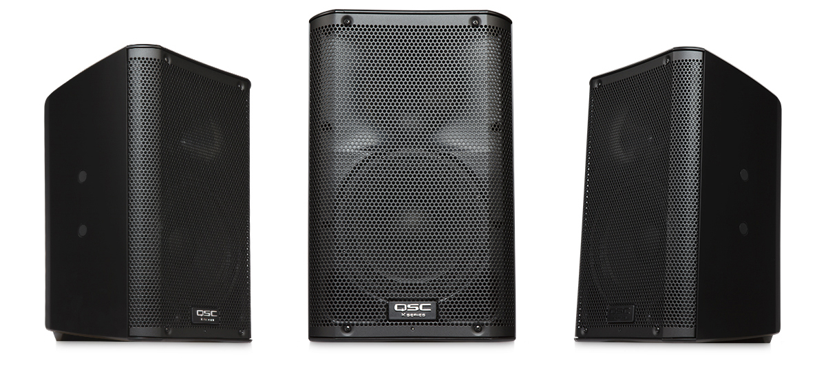 QSC Speakers - The leading and most trusted provider of high quality professional audio systems worldwide.