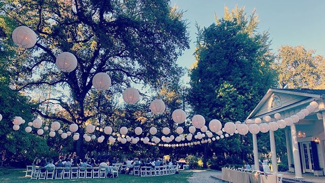 Beautiful day for a wedding at @whitehouseredding with @aplannedaffairredding #NorcalWeddings #WeddingDJ #reddingcalifornia