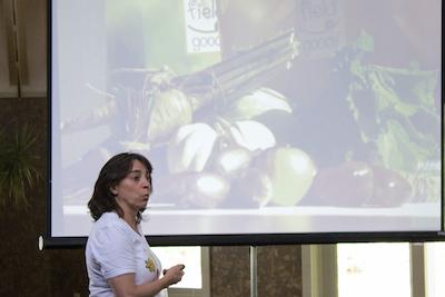 Donna presenting at the 2014 SVI Hudson Valley