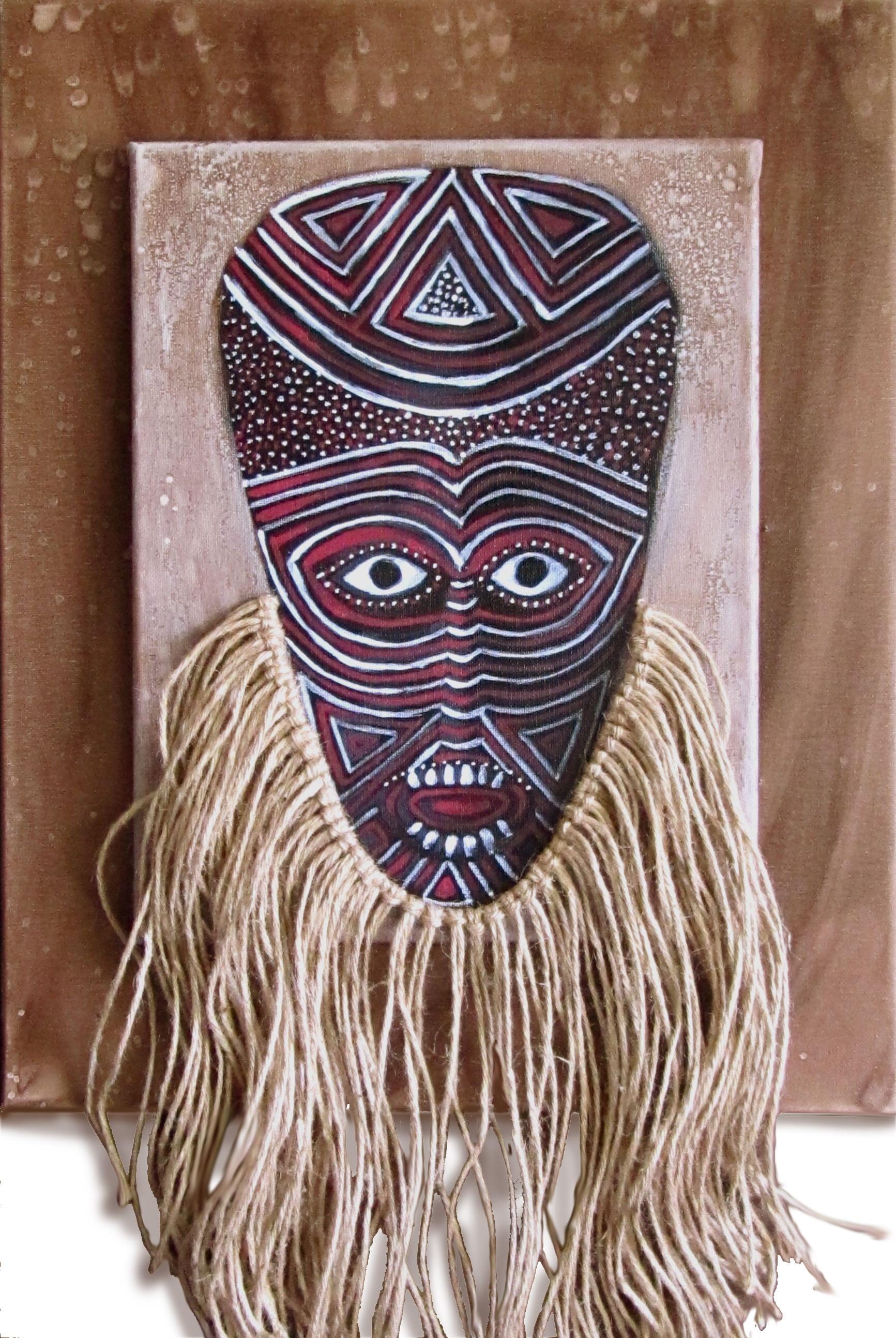 Matabele ritual mask