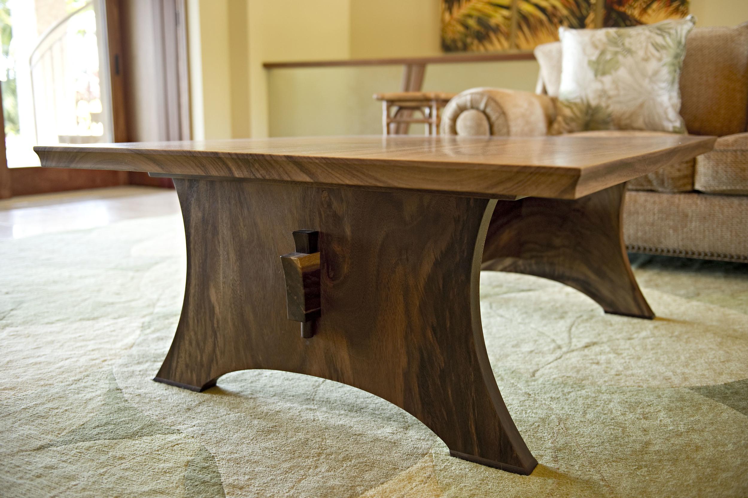 Monkey Pod Coffe Table