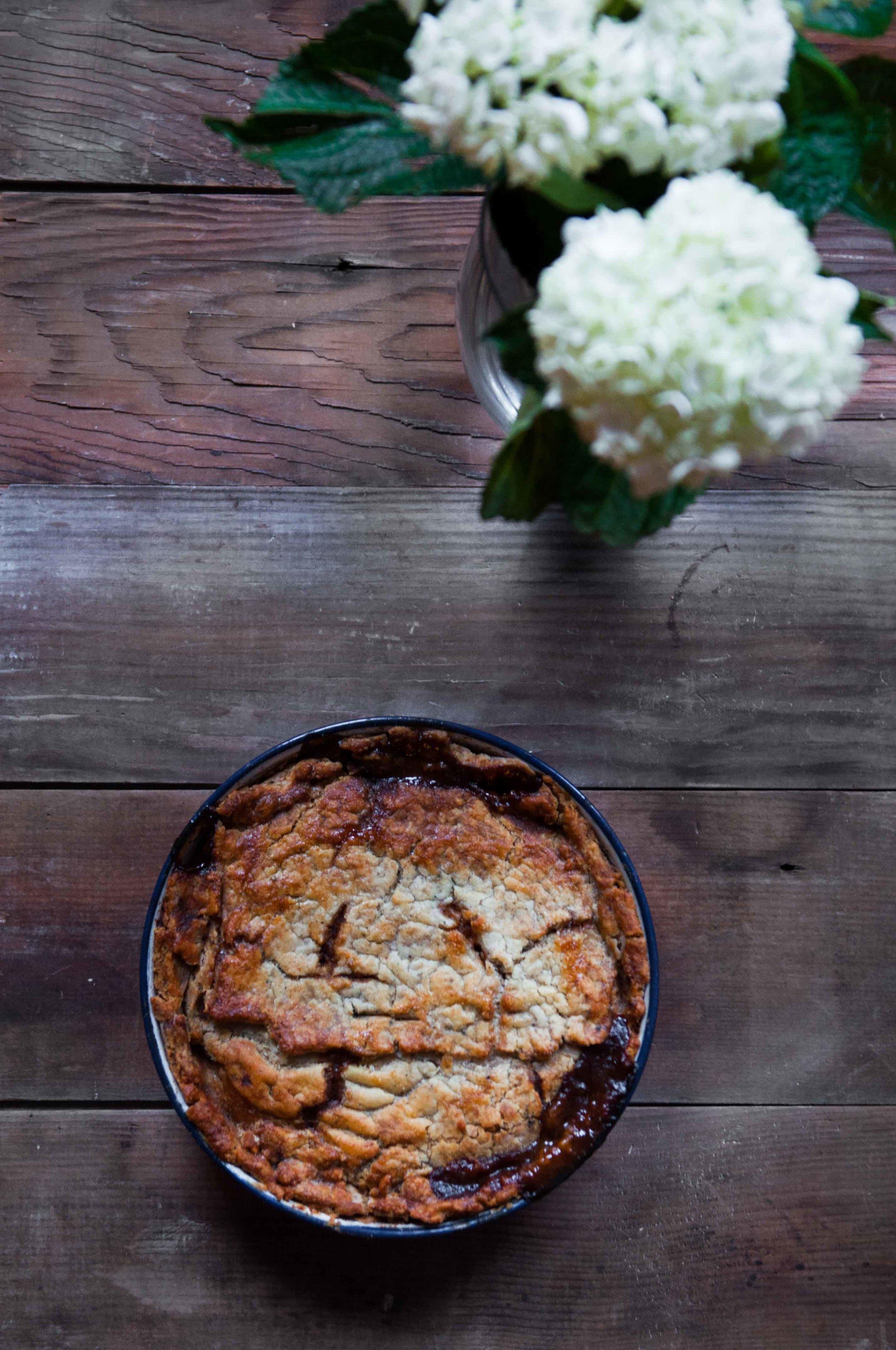 Gluten Free Curried Irish Beef Pot Pie with a Tallow Crust made with gluten free flour blend