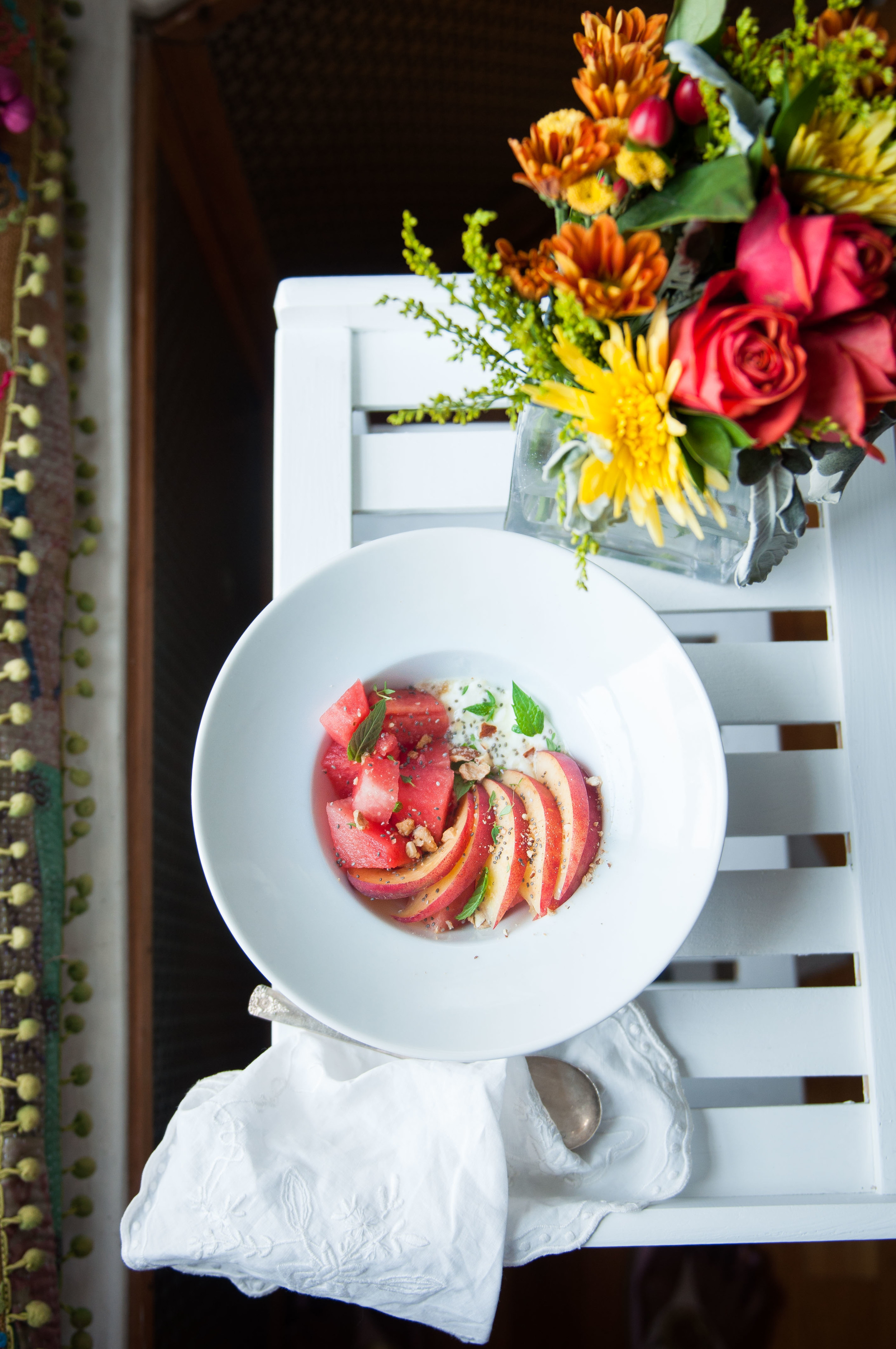 Summer Chia and Fruit Breakfasts