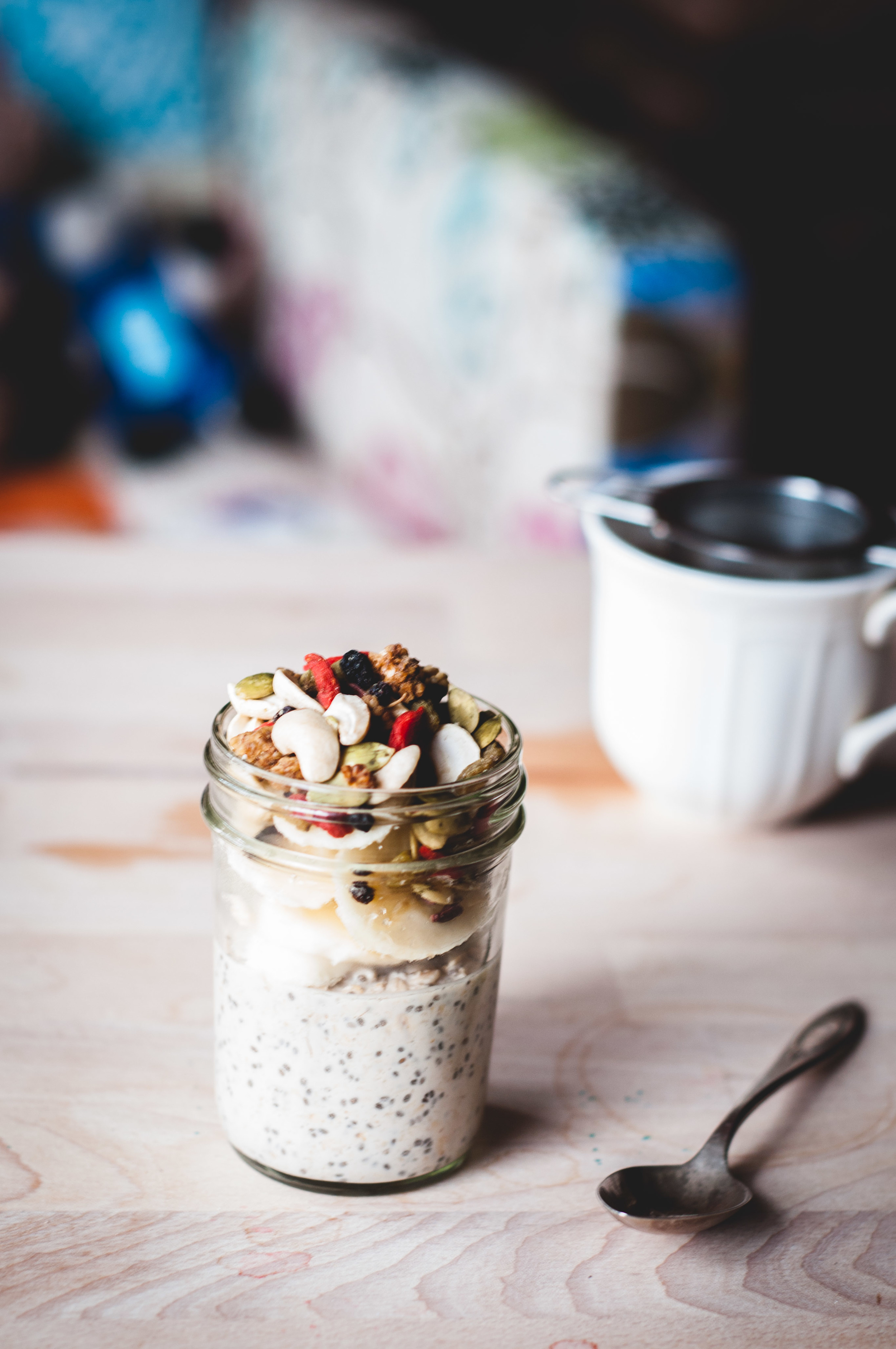 Oat, Chia and Coconut Milk Fruit Parfaits from ashaFSK