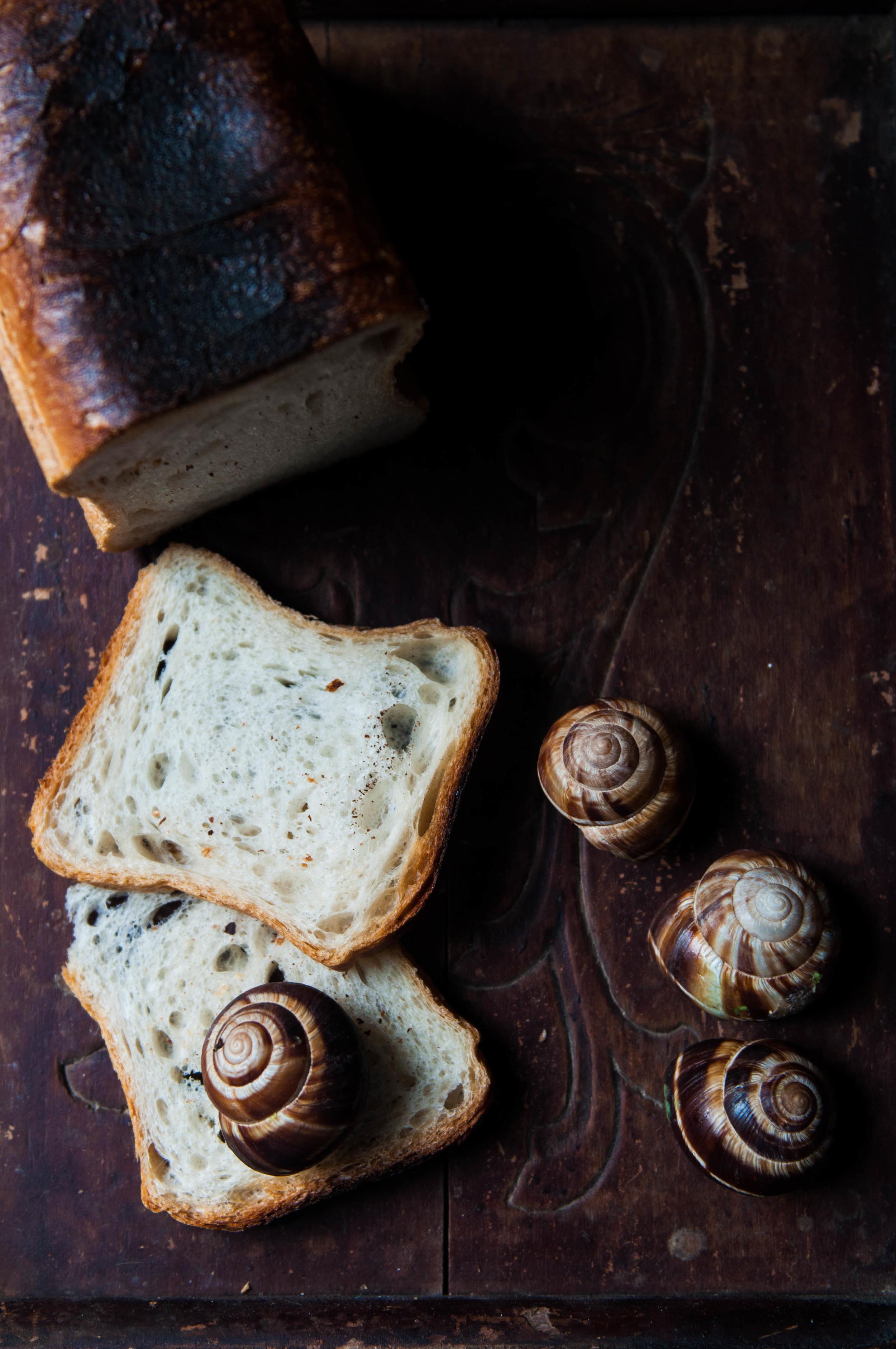 Escargots to toast