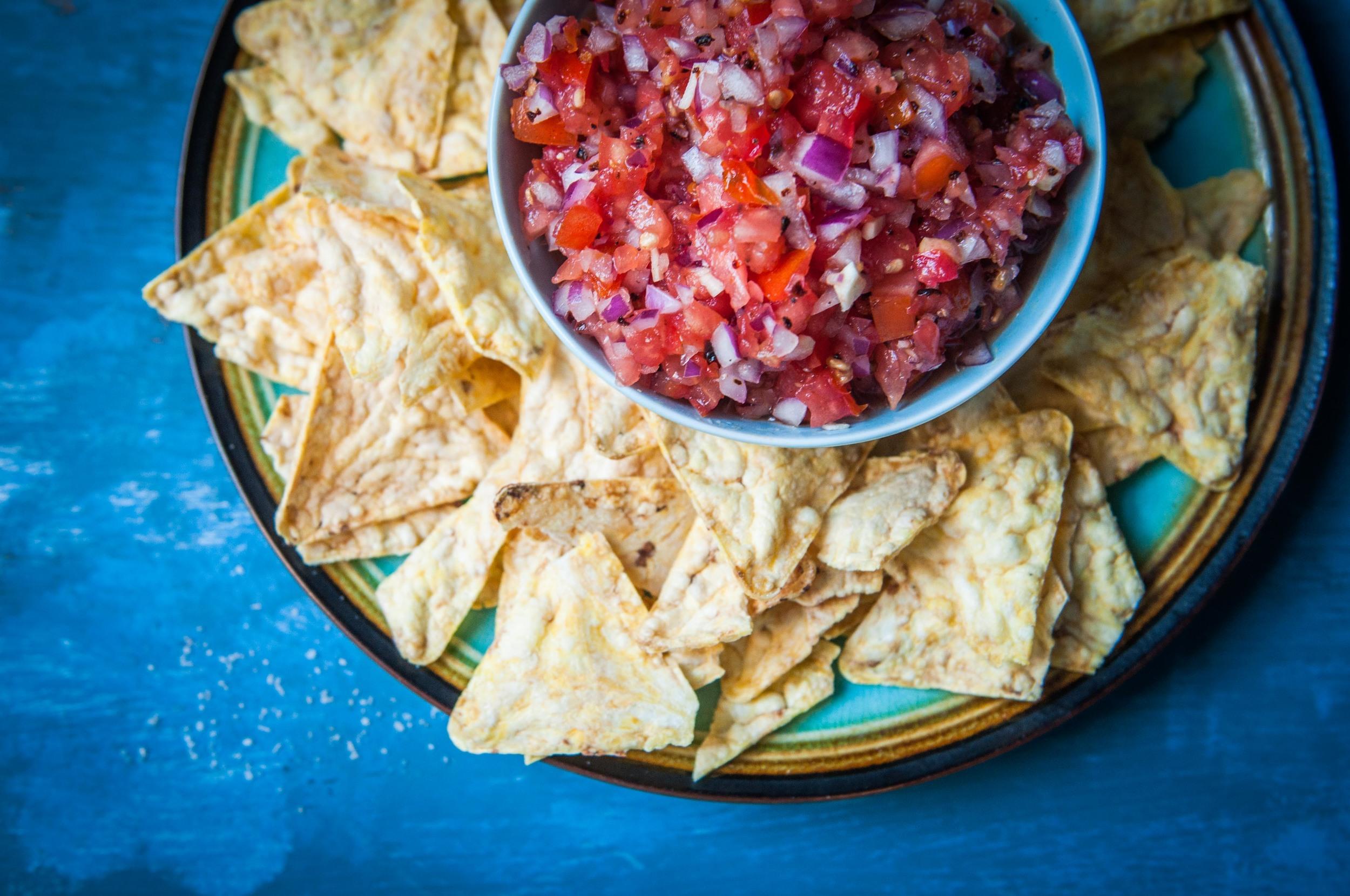 Fresh Smoky Honey Chipotle Salsa - Fork Spoon Knife