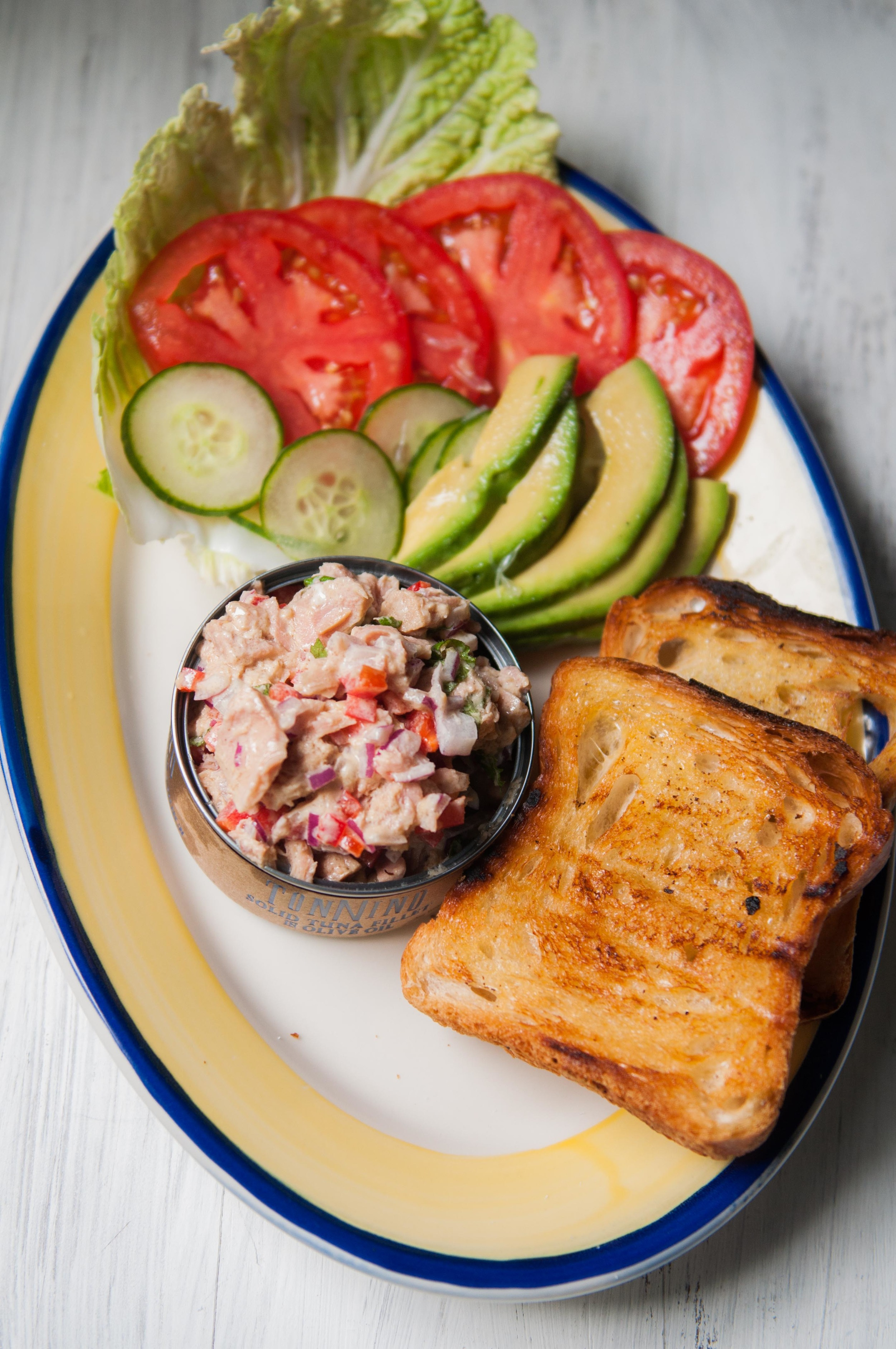 Tuna Salad Sandwich Assembly - FSK Blog