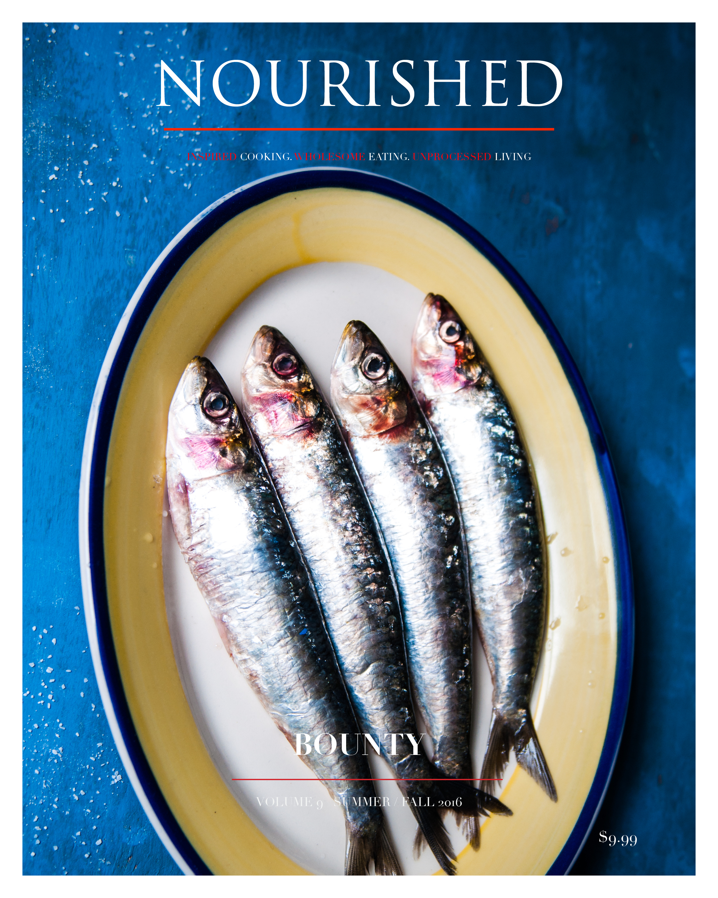 NOURISHED - SUMMER/FALL ISSUE OUT!
