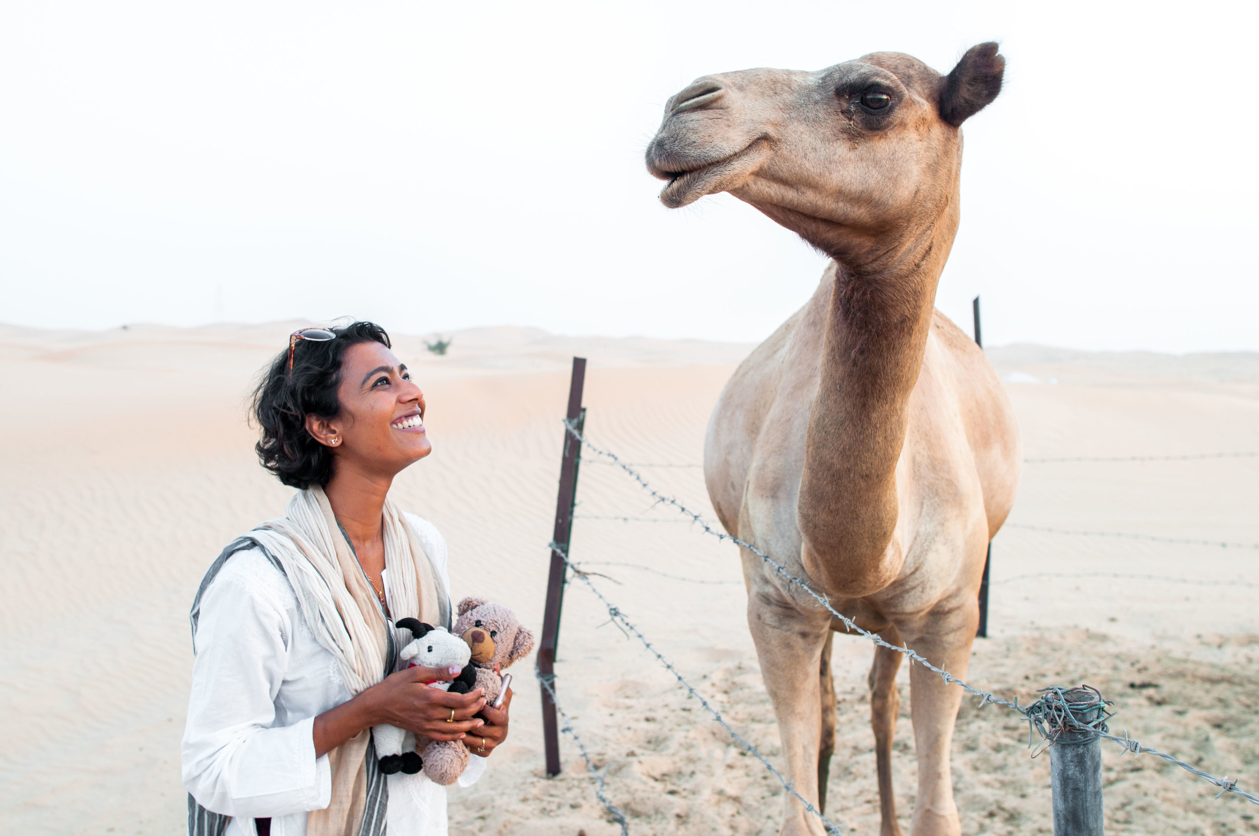 Communing with the camel