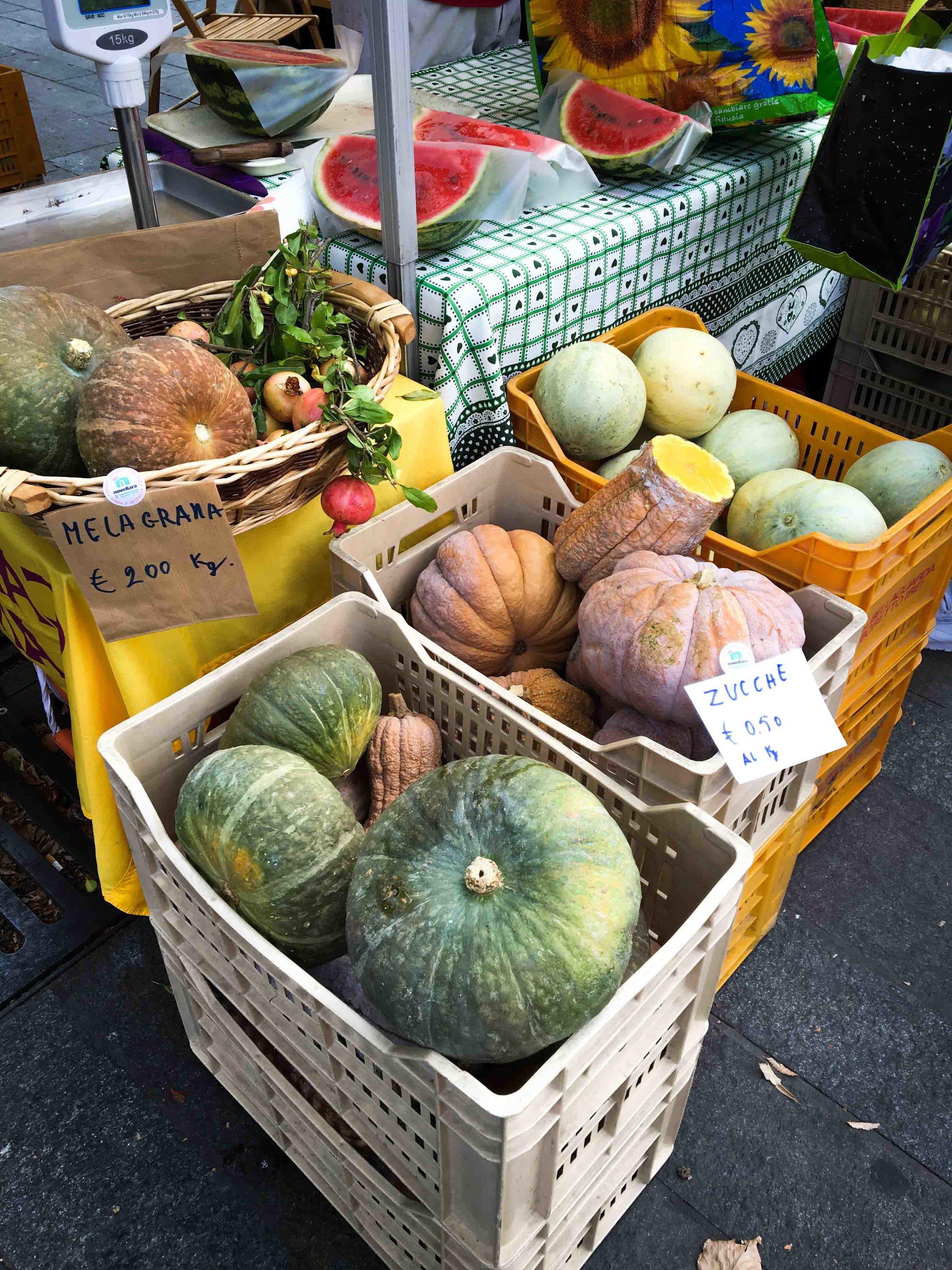 Saturday market - Autumn produce