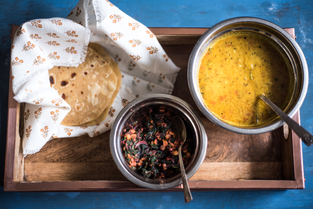 Yellow-Dal-Roti-and-Red-Greens-saute.jpg