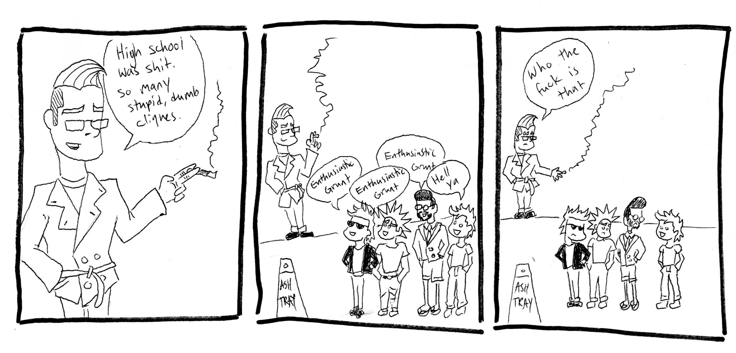 comic by Thomas Ordway '17