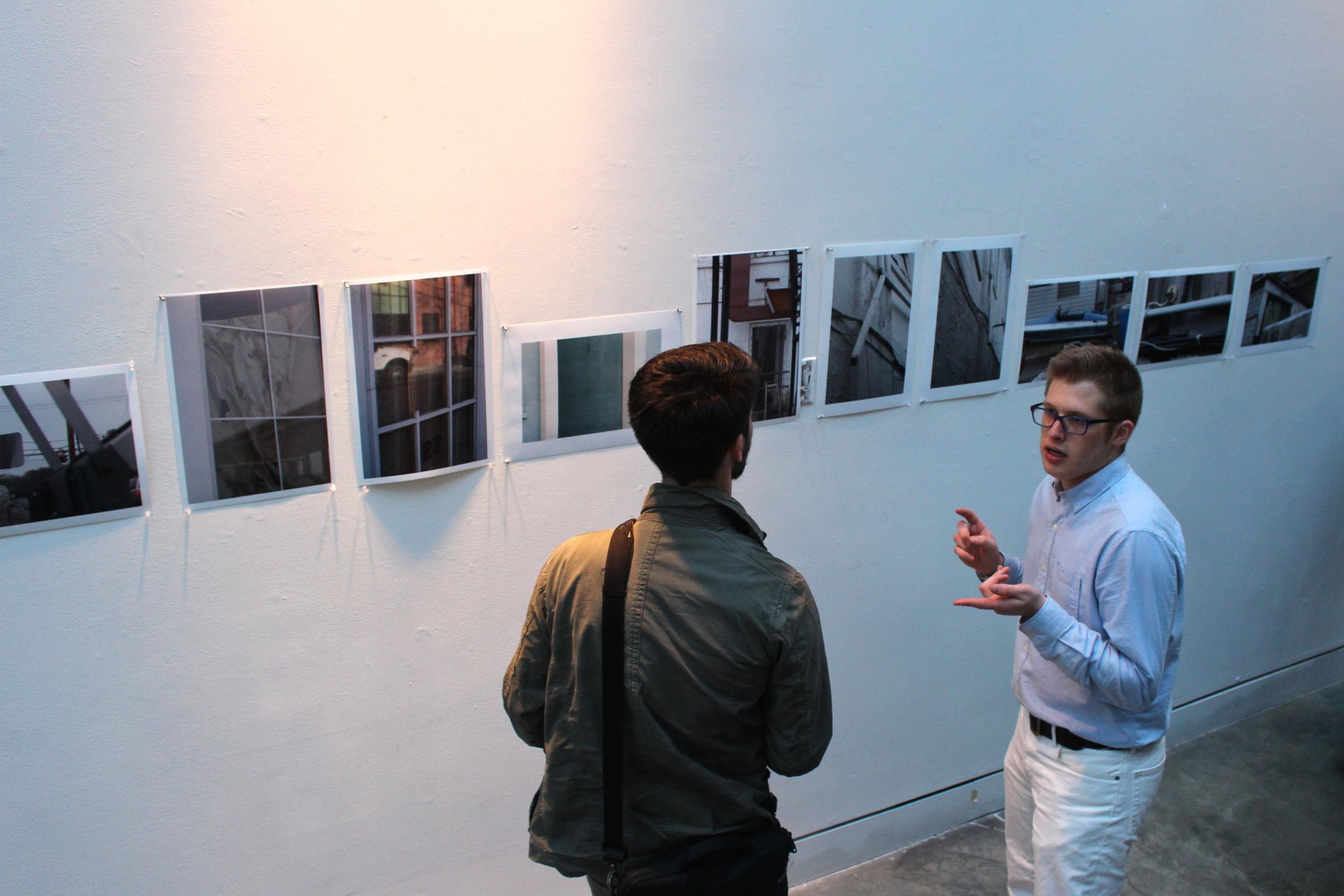 Luke Hammerman '14 discusses his work