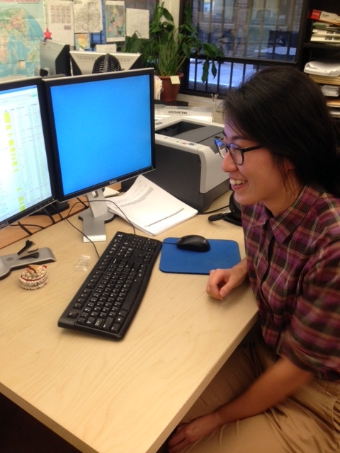 """""""I am working as a paralegal intern. My main task is to check qualifications of the buildings / apartment before they get listed in the website of NYHabitat. I also work with the owners when the necessary documents need to be updated.""""    JuYoung Lee interning at NYC Habitat"""