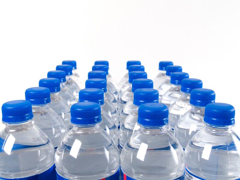 The United states spends $11.8 billion per year on bottled water. image via foodnavigator-usa.com.