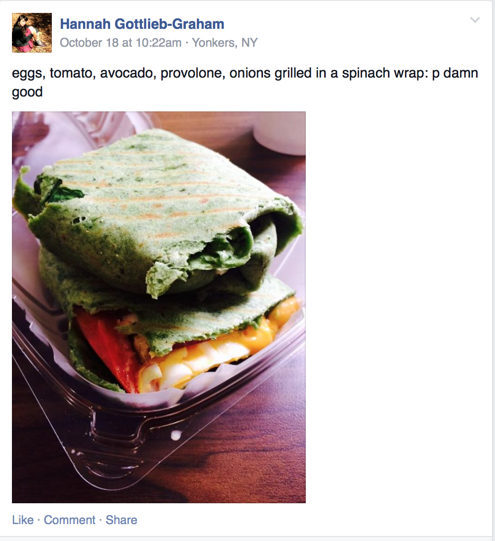 Post by hannah gottlieb-graham '17 on the pub rediscovered Facebook page.