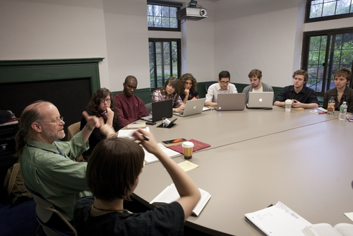 A traditional Sarah Lawrence seminar classroom. Photo courtesy of U.S. News.