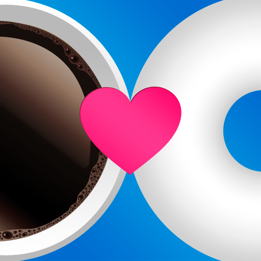 The logo for the dating app, Coffee Meets Bagel.   Photo courtesy of Forbes