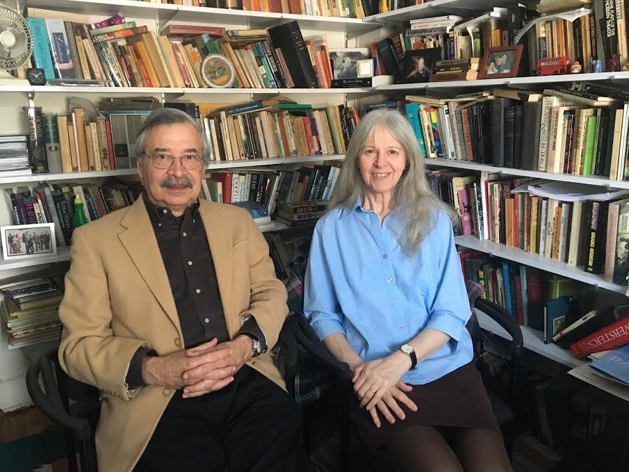 Professors joe and ann lauinger at slc. photo credit: victoria mycue