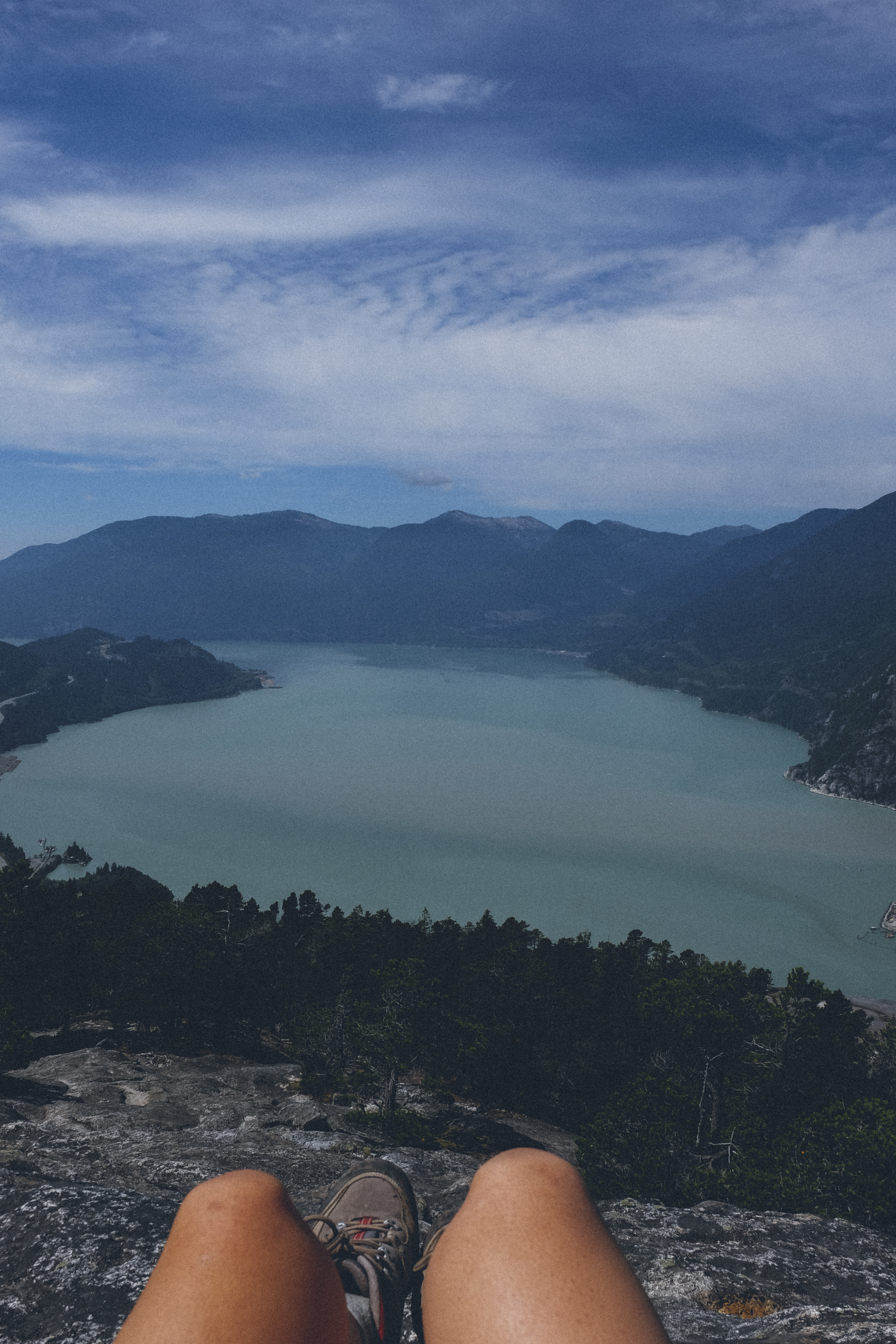Hiking The Chief in Squamish circa this week