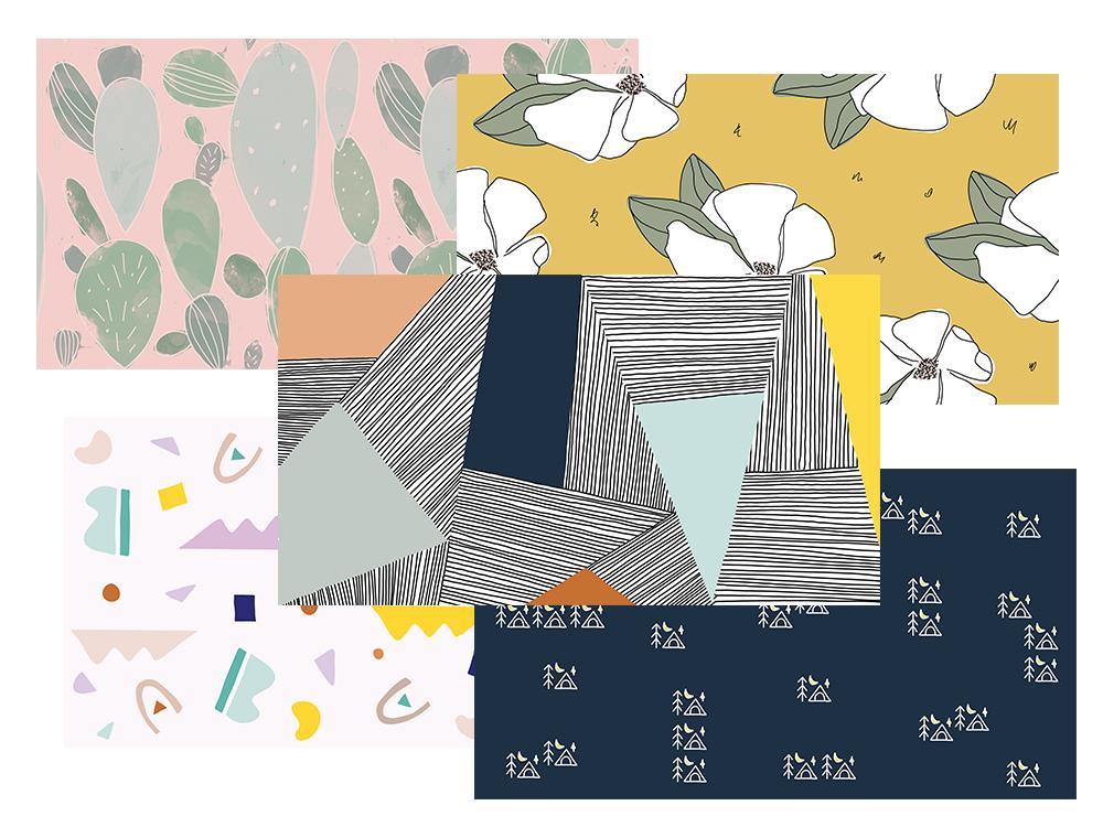 SugarSky Pattern Design