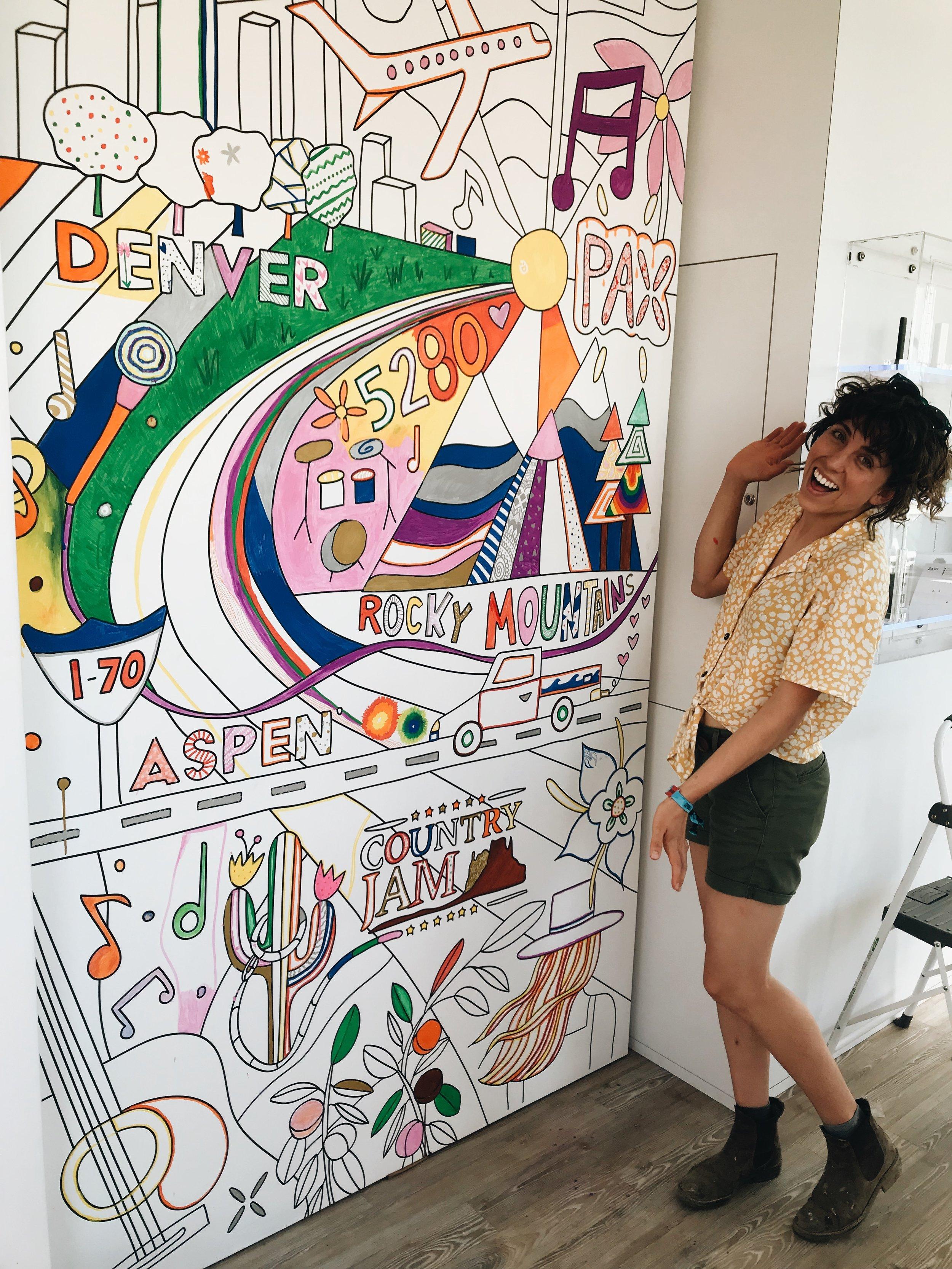 PAX Mural