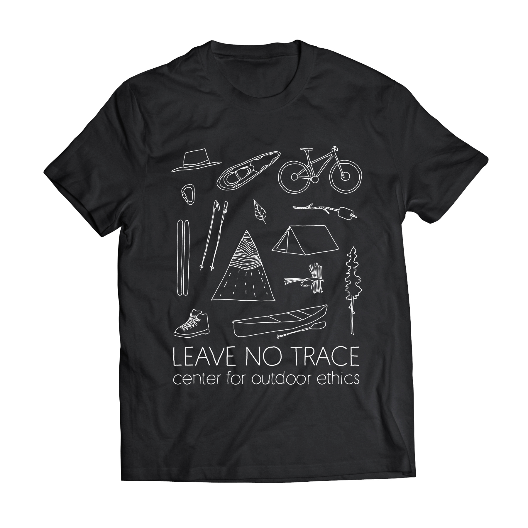 Leave No Trace T-Shirt Design