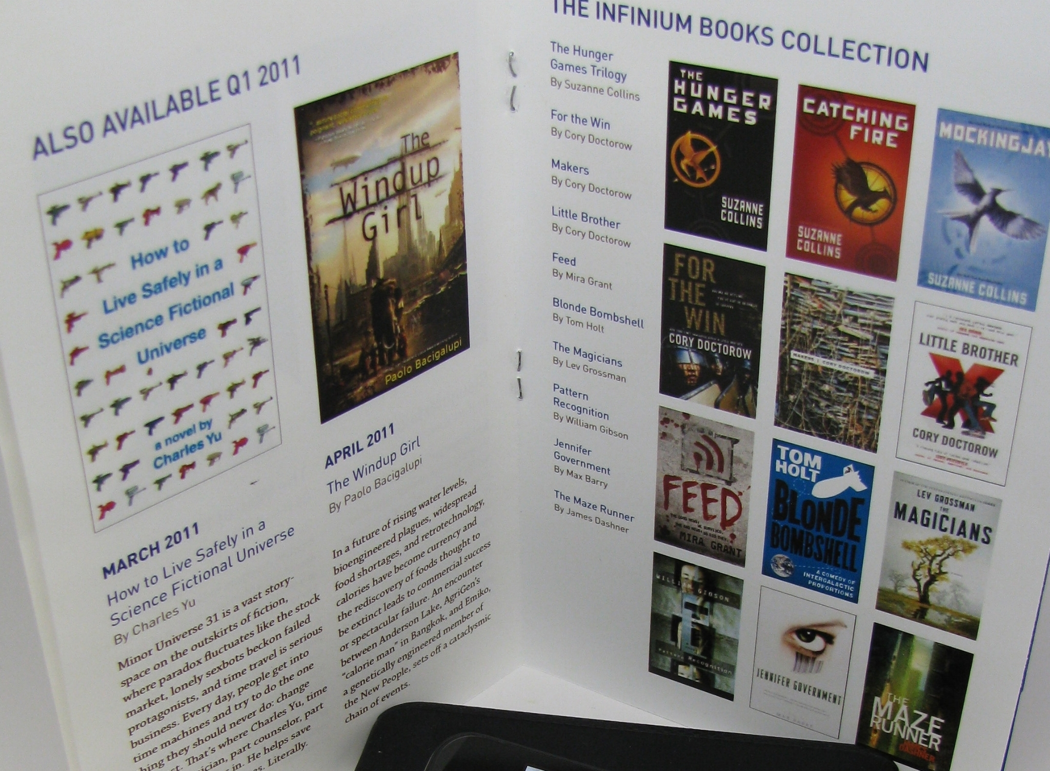 Print catalog design, 2011