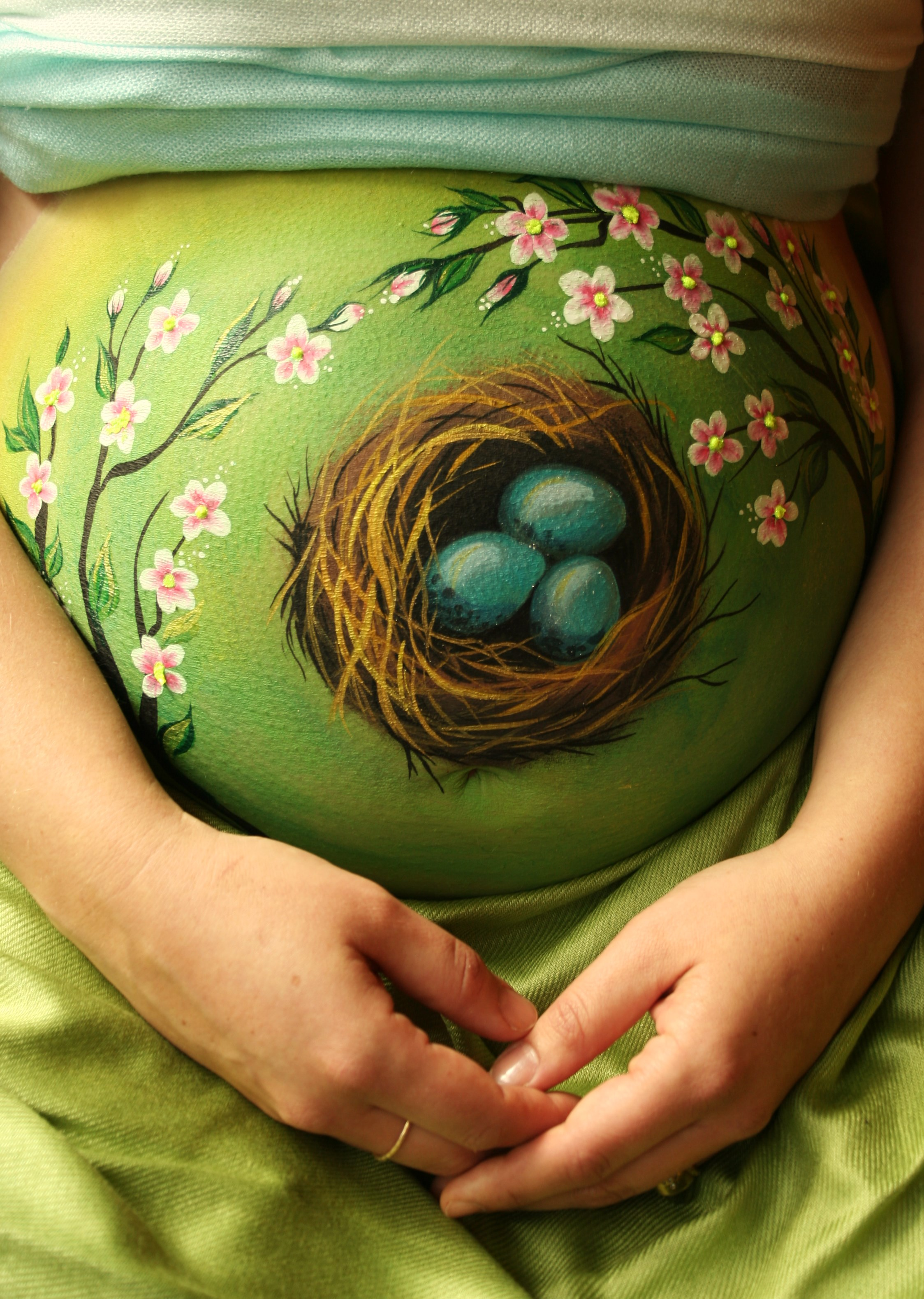 Pregnant Belly Painting- Tatyana's Face and Body Art-7.JPG