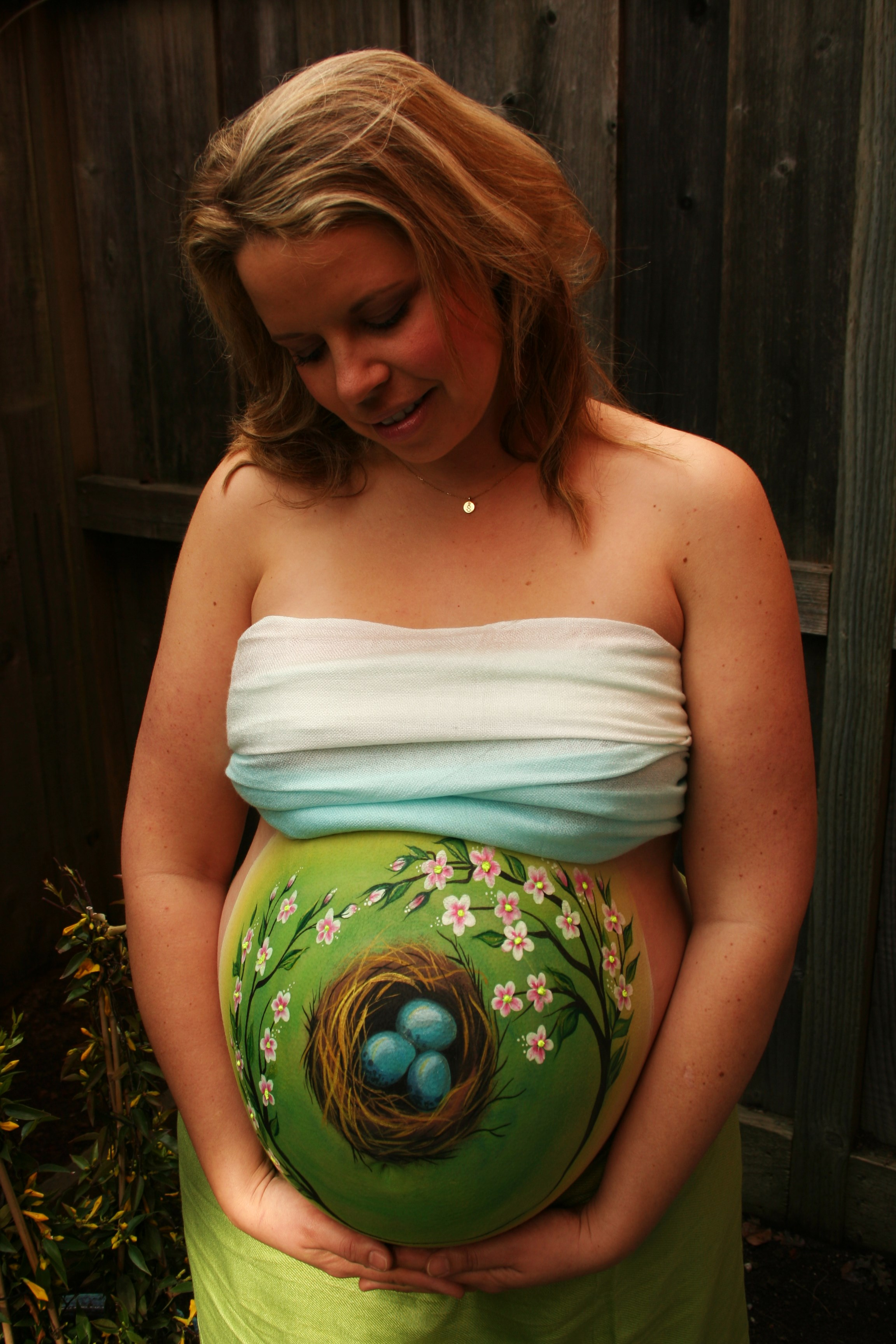 Pregnant Belly Painting- Tatyana's Face and Body Art-1.JPG