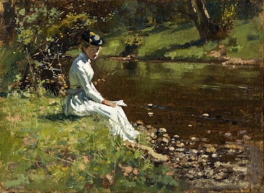 James Nairn Lady at Silverstream 1892