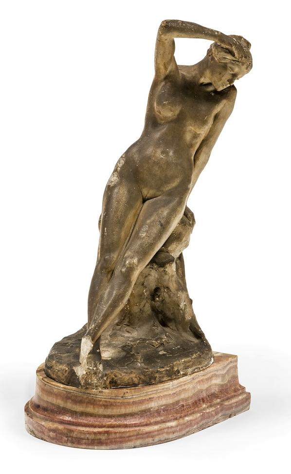 Bertram Mackennal Sappho Sculpture c1921