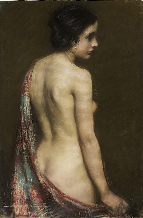 JANET AGNES CUMBRAE-STEWART (1883–1960) Nude 1924