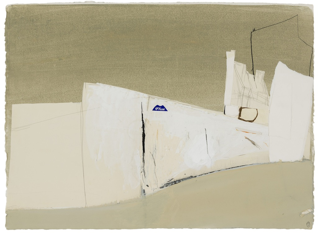 Brett Whiteley 6 arrondissement 1989 collage